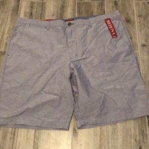 Blue merona flat shorts
